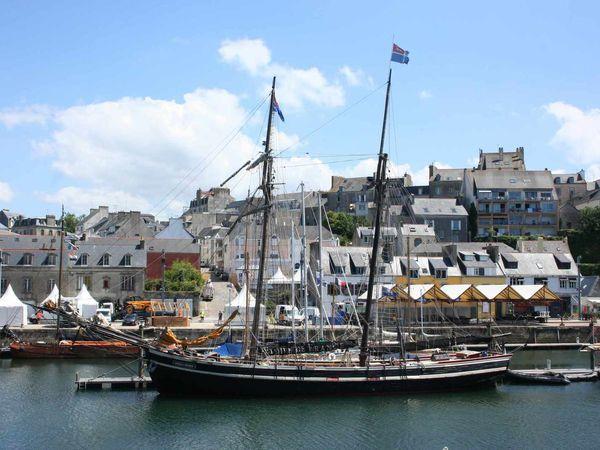 243 - Temps Fêtes, Festival maritime du 24 au 27 juillet 2014 à Douarnenez, voiliers traditionnels... Finistère en Bretagne.