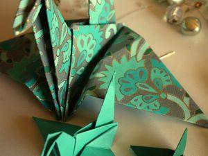 "Origami ""oiseau"""