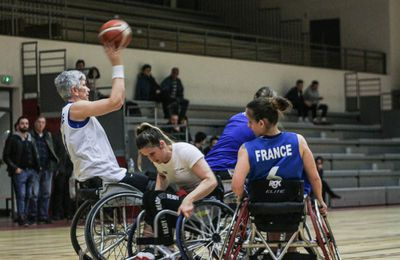 match exibitions équipe de france handibasket