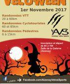 La Veloween, Aizenay (Sortie VTT du 01/11/2017 / Ref. : 50134)