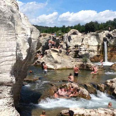 Les cascades de Sautadet (La Roque-su-Cèze-Gard)