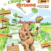 La fête de l'agriculture paysanne au Bouyssou de Maurs