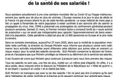 Michelin veut aussi rouvrir  ses usines