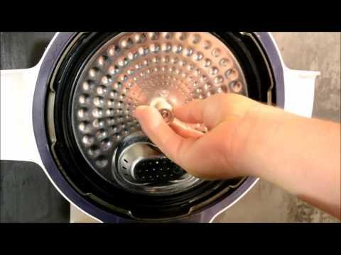 Comment nettoyer les valves et caches valve du cookeo