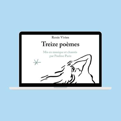 Pauline Paris, le clip de L'éternelle Tentatrice   Treize poèmes de Renée Vivien