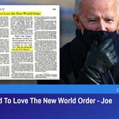 How I Learned To Love The New World Order - Joe Biden, 1992 | GreatGameIndia
