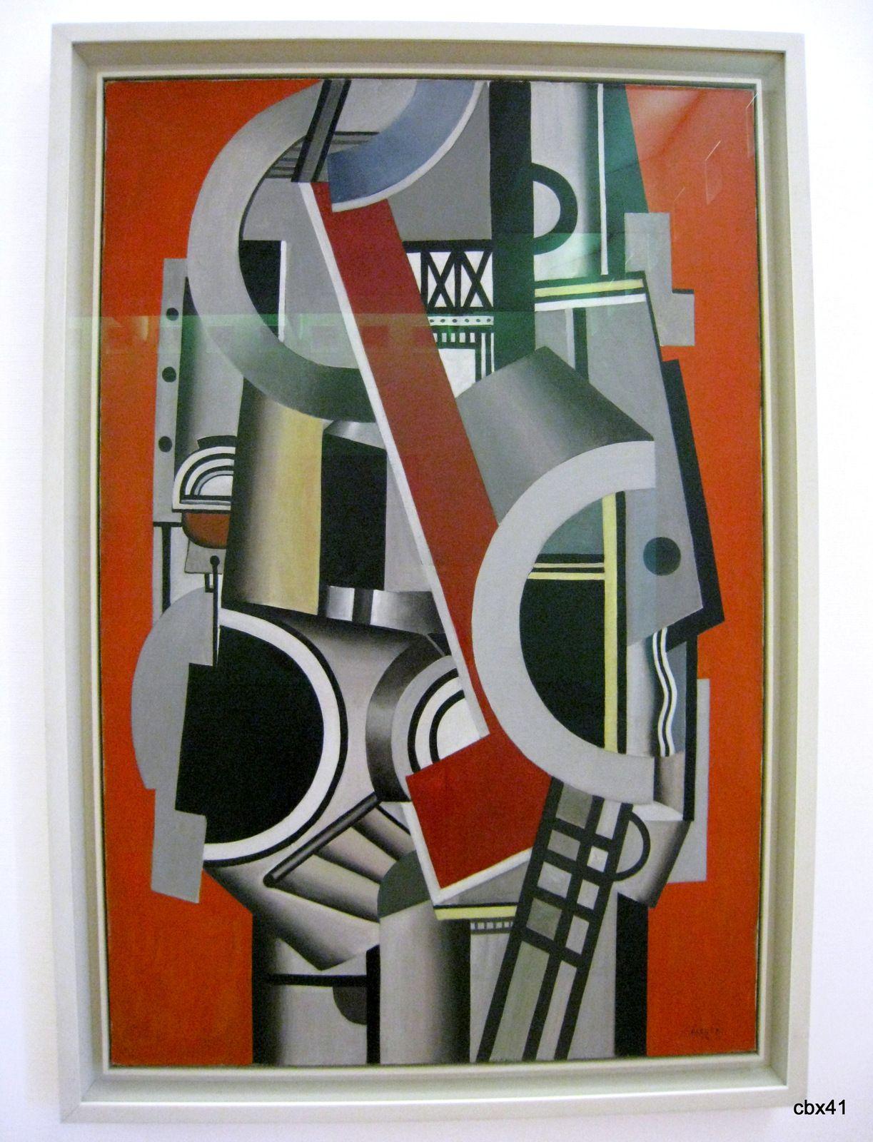 Fernand Léger, Elément mécanique