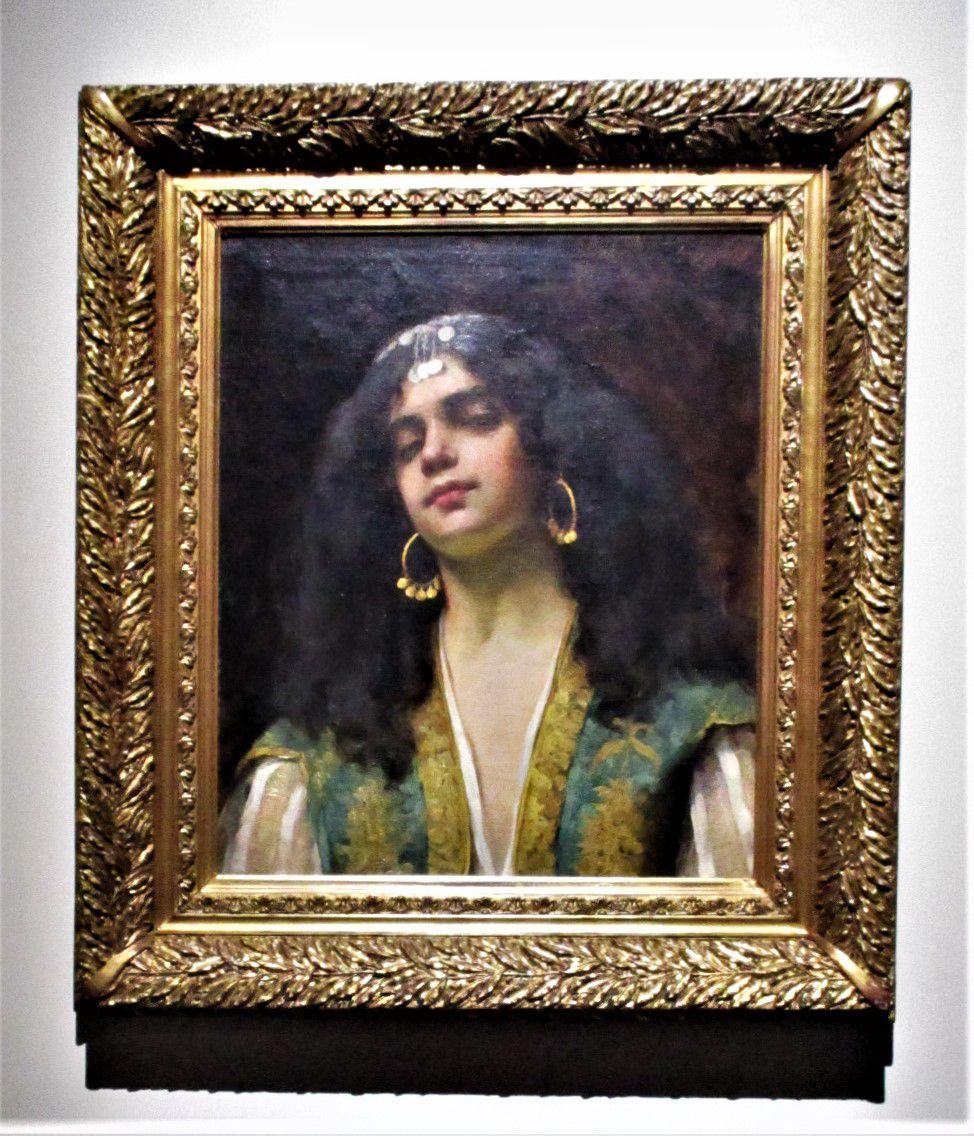 Portrait de femme berbère - Lucie Billet, 1880-1920