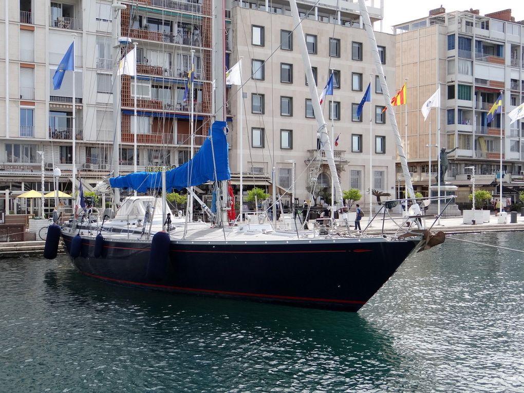 CASSIOPEIA , arrivant dans le port de Toulon le 26 mai 2016