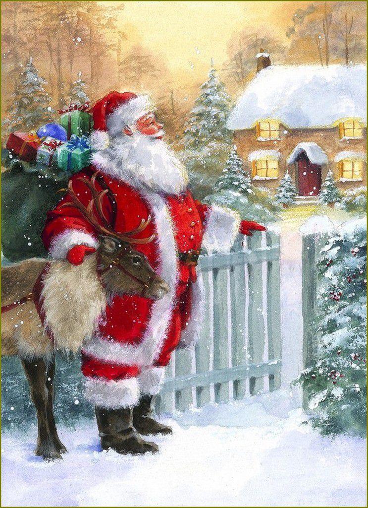 Le Père Noël en illustration- Hazel Lincoln