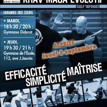 Reprise Krav-Maga !