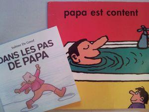 Bonne Fête les Papas en albums et chanson!