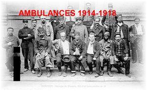 AMBULANCES... 1914-1918 – Lettre i