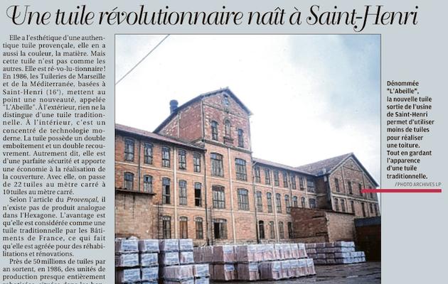 1986, une tuile révolutionnaire naît à Saint Henri