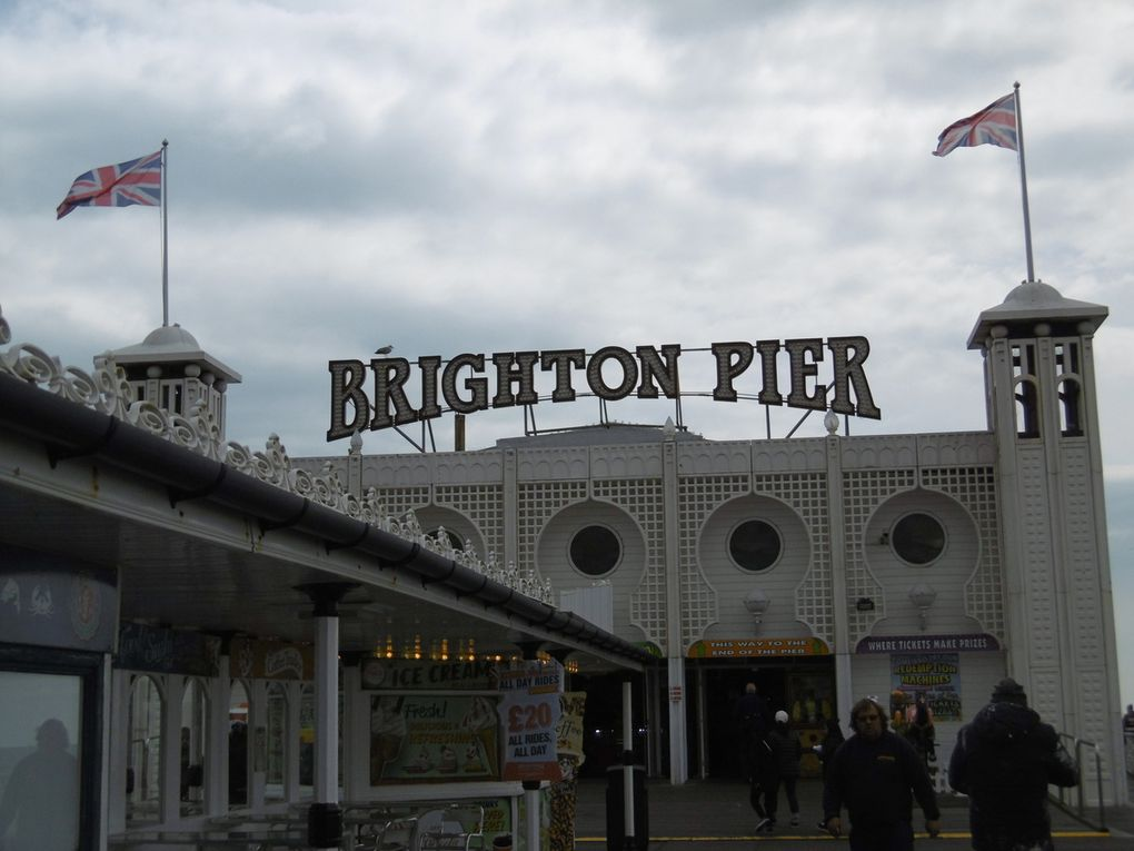 Back from Londaon and Brighton!