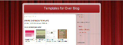 Store OverBlog Template