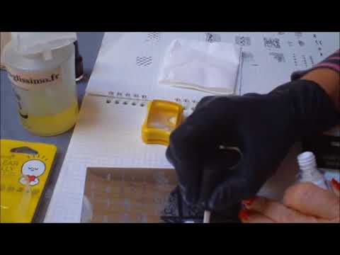 Test Stamping nouveau tampon KONAD Clear Gelly