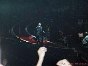 U2 -Paris -France -17/07/2001 -Palais Omnisports De Paris Bercy