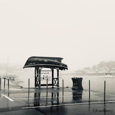 Soir de brume au Cap