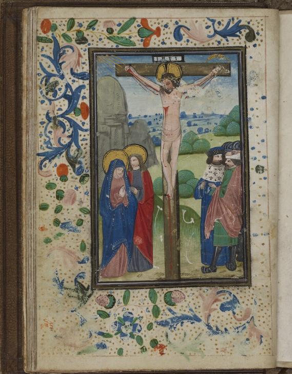 Manuscrit de Fécamp (fin XV° - début XVI° s.), Musée Bénédictine de Fécamp (Photo BVMM)