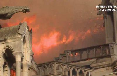 Incendie de Notre-Dame : un pompier et deux policiers blessés