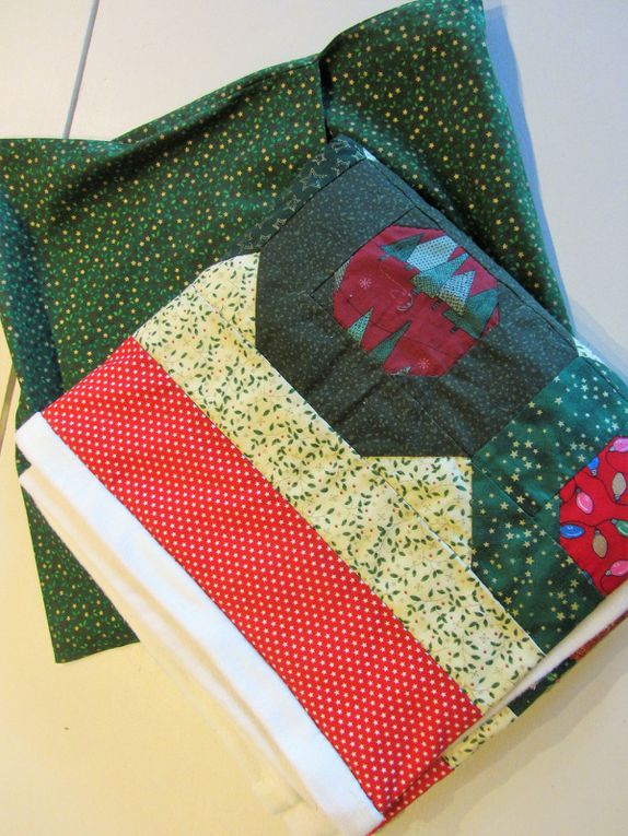 "Patchwork  : ""Christmas hugs"""