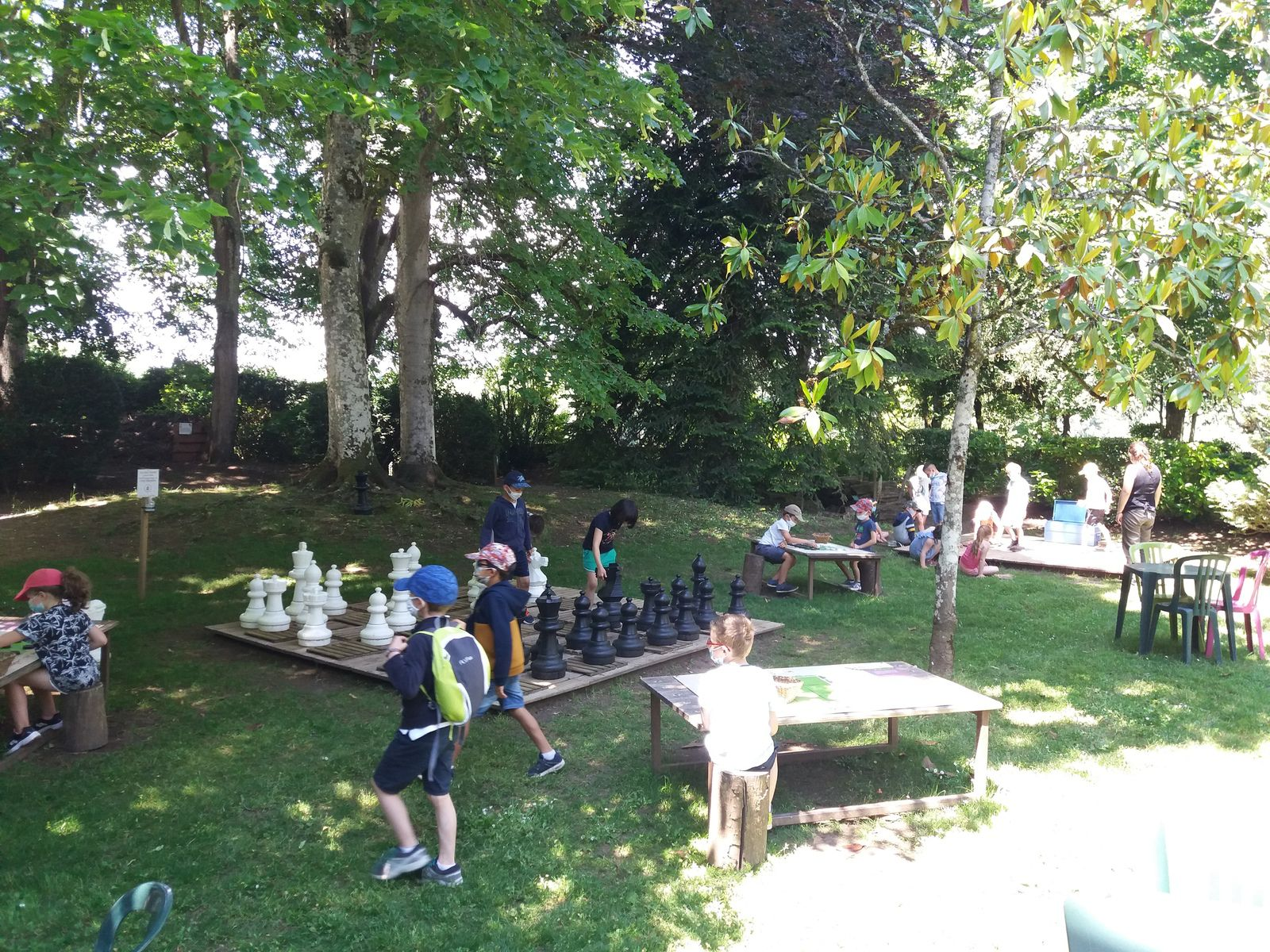Visite des jardins panoramiques de Limeuil pour les CP !