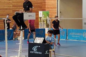 Des élèves de 6ème vu sur une compétition officielle de badminton !