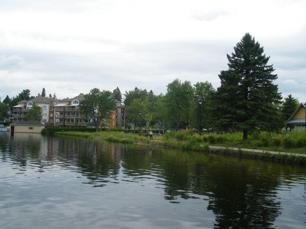 région de lacs à 1h au nord de Montréal