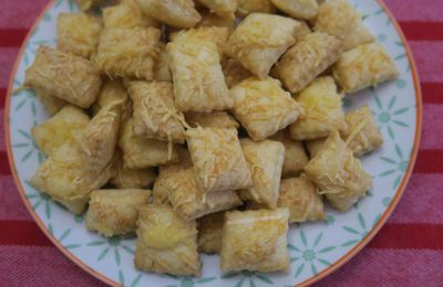 Crackers à l'emmental
