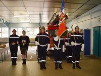 Médaille et galons à la sainte-Barbe des Sapeurs Pompiers à Algrange en 2016 (Partie3)