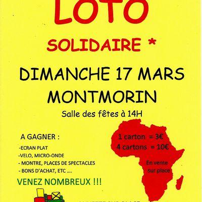 Loto Billom Sans Frontières dimanche 17 Mars 2013