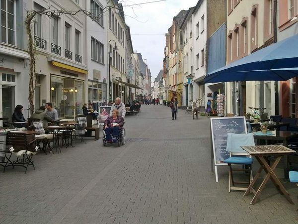 Shoppen in Trier - Die Neustraße
