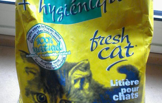 Fresh Cat, la litière à l'argile verte du Puy-en-Velay