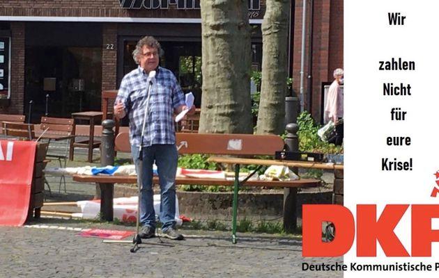 """""""Nous ne paierons pas pour votre crise"""" - Entretien avec le Président du Parti communiste allemand (DKP)"""