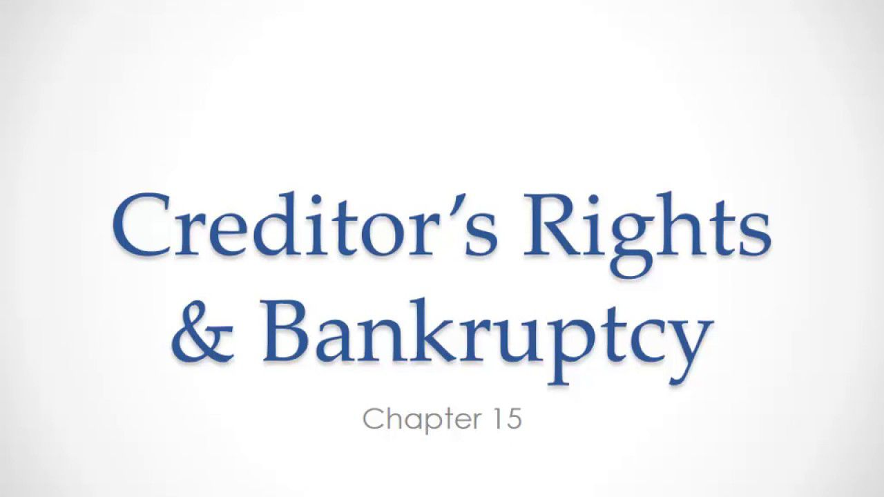 3 Reasons Your bankruptcy law Is Broken (And How to Fix It)