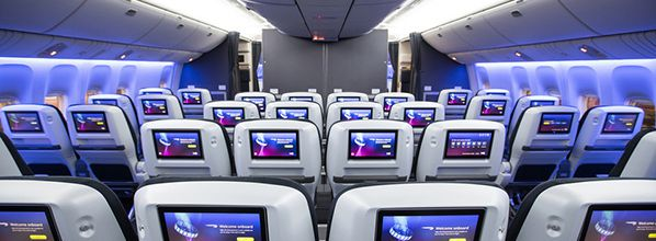 Love is in the Air as British Airways launches Valentine's in-flight entertainment channel