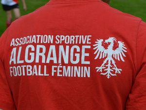 Séance découverte du football féminin à Algrange