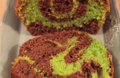Cake à la menthe et au chocolat