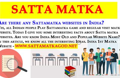 Are there any Sattamatka websites in India?