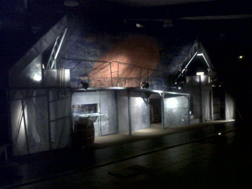 Les premières images de Woyzeck Pôle Culturel du Marsan mars 2011