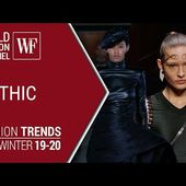 Gothic   Fashion trends fall winter 19/20