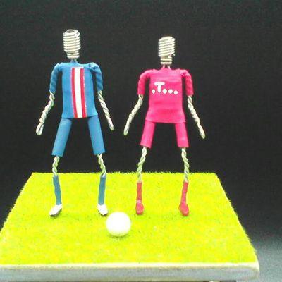 Muselets Footballeurs