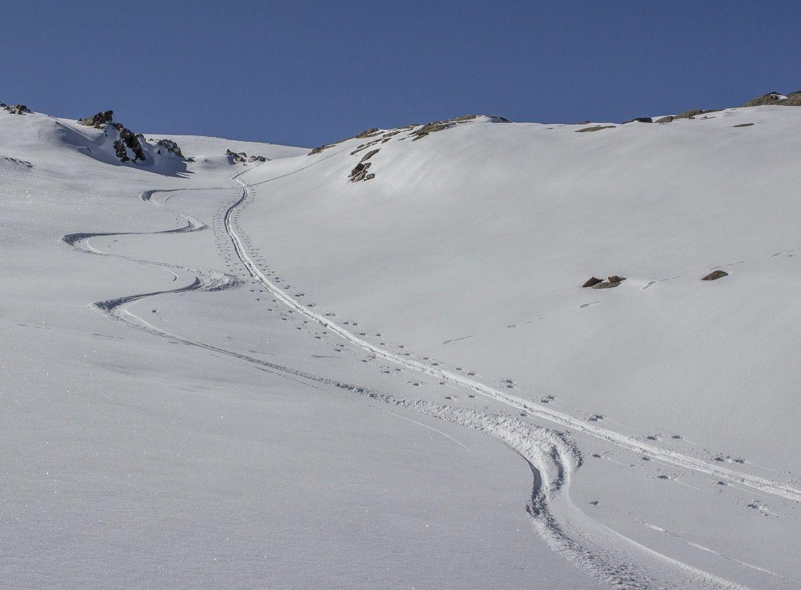 Ski d'octobre