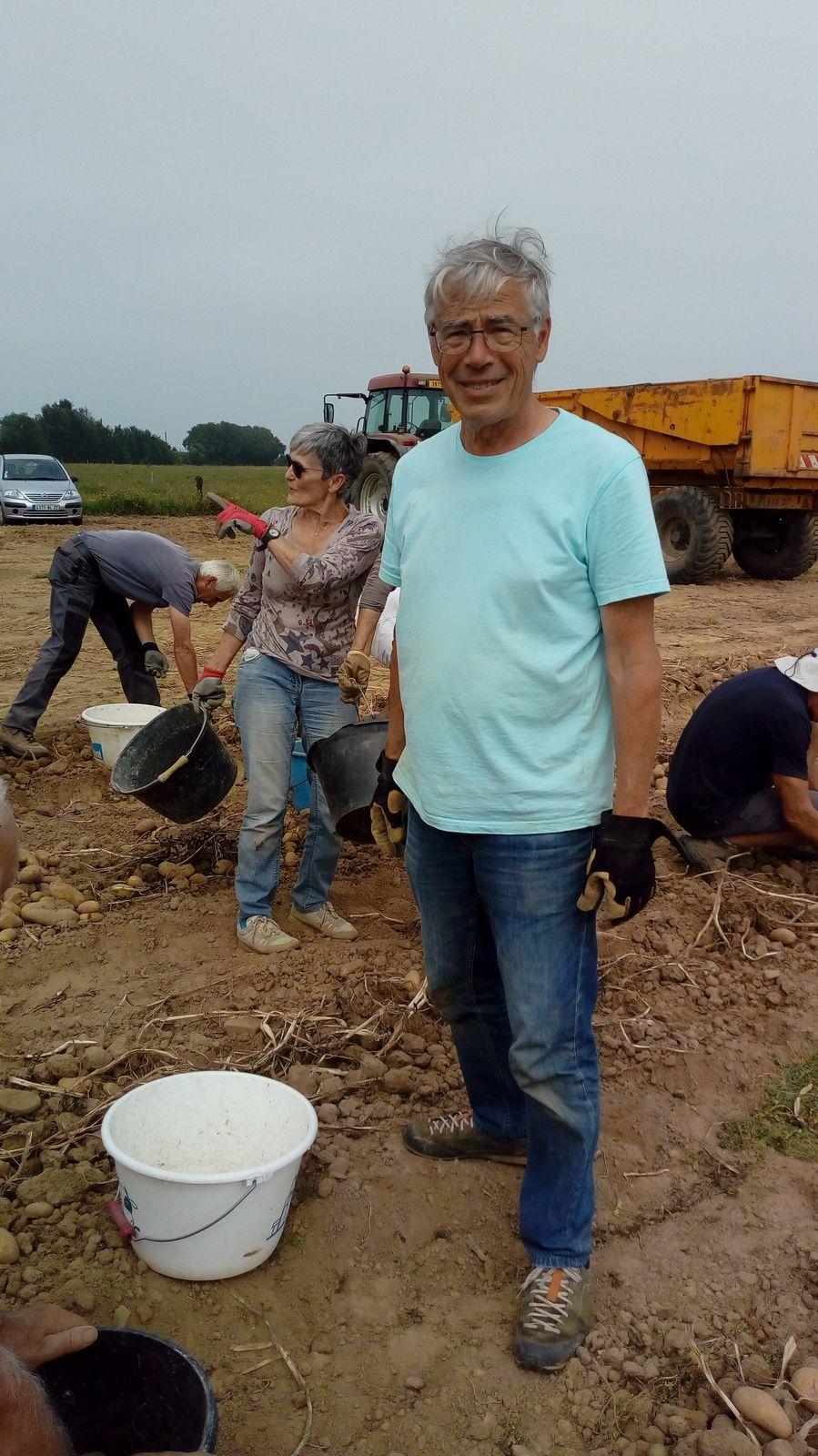 Séance de rattrapage pour le ramassage de pommes de terre ! c'est le 11 septembre