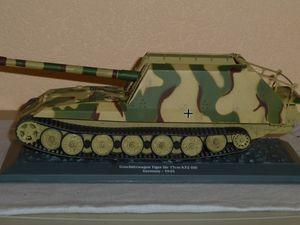 Geschutzwagen Tiger au 1/43 (Altaya/Ixo) par Frédéric C.