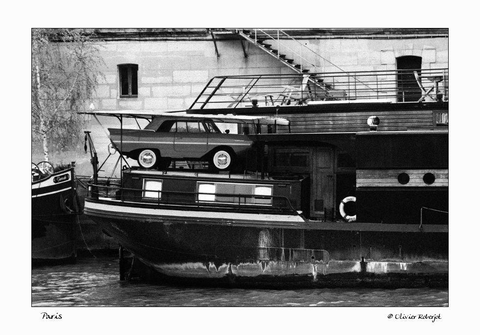 Des vues de Paname en noir &blanc.