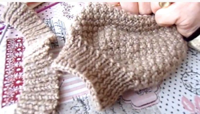 tuto video : refaire les côtes ; fin et astuce pour ne pas trop serrer son tricot