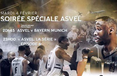 [Basket] Journée Spéciale ASVEL Lyon Villeurbanne ce mardi sur RMC Sport !