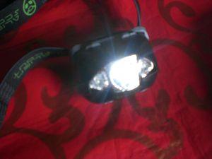Stirnlampe von Alien Scout im Test...